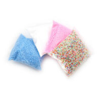 1Pack DIY Snow Mud Particles Accessories Slime Balls Small Tiny Foam Bead Toy 3C