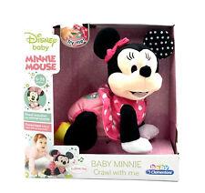 Clementoni 17260 Disney Baby Minnie Krabbel mit mir interaktives Spielzeug