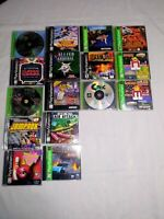 PlayStation One Lot 14 Games Tested/Works