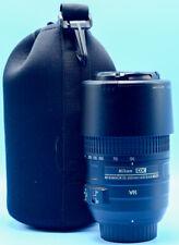 Nikon Nikkor 55-300mm f/4.5-5.6 VR AF-S ED Lens EXc+++++W/Case