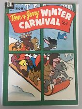 Dell Giant Tom and Jerry Winter Carnival (1952) #1 FN Fine Dell Comics