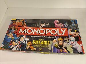 Disney Parks Villains Monopoly Collectors Edition