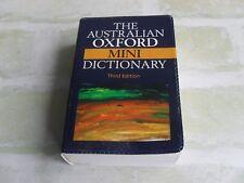 THE AUSTRALIAN OXFORD MINI DICTIONARY THIRD EDITION