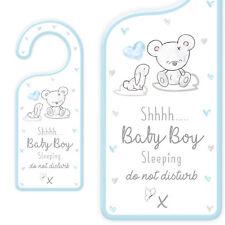 Nuevo Bebé Puerta Placa Colgante con texto-tranquilícese Bebé Niño Para Dormir
