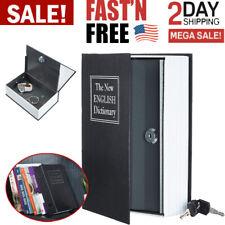 Book Safe Box Lock Vault Water Fire Proof Home Money Gun Cash Sentry PROTECTION