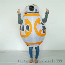 Christmas Inflatable Space Robot Mascot Costume Suits Cosplay Carnival Adults @@