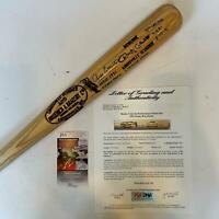 Rocky Colavito Signed Inscribed Home Run Derby Game Used Bat PSA DNA 10