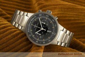 IWC Schaffhausen GST Chronograph Titan Herrenuhr Datum Saphirglas Ref. 3727