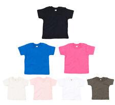 Organique Bébé T-Shirt Garçons Filles Petit Enfant Chemise 3 - 24 Mois Bio Coton