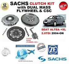 FOR SEAT ALTEA 5P1 5P5 5P8 2.0 TDi CLUTCH KIT 2004-ON w FLYWHEEL & CSC & BOLTS