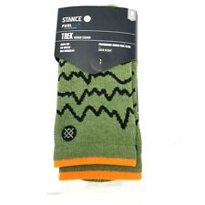 Stance Feel 360 Performance Merino Wool Blend Crew Socks Men's Size M (6-8.5)