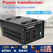 5000w Voltage Transformer Volt Converter Step Up & Down