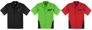Icon Men's Overlord Shop Shirts - Button Front - Black, Green, or Red