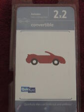NEW QUICKUTZ  2X2  CUTTING DIES CONVERTIBLE CAR