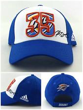 697d70d471d Oklahoma City Thunder Adidas New Youth Warriors Kevin Durant 35 Blue Era  Hat Cap