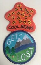 PATCHES Cool Beans Get Lost Indie Creators Camper Adventure Hipster Insta Art