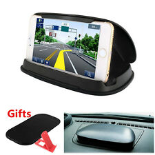 Auto Car Dashboard Mount Anti-Slip Silicone Holder Bracket For Mobile Phone GPS