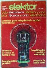 ELEKTOR - ELECTRÓNICA, TÉCNICA Y OCIO - Nº 54 - NOVIEMBRE 1984 - VER SUMARIO
