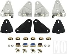 68-69 Camaro Firebird Door Glass & Window Roller Mount Kit Correct Reproduction