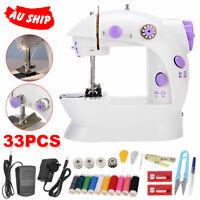 Electric Mini Multi-Function Portable Hand Held Desktop Home Sewing Machine AU
