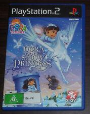 Sony PS2. Dora The Explorer. Dora Saves the Snow Princess (PAL AUS/EUR)