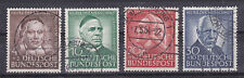 Gestempelte Briefmarken aus der BRD (ab 1948) als Satz
