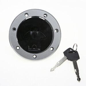 Gas Tank Cap Cover Lock Fit For Kawasaki EX500 Ninja 500 EX400 250R/600R/750R
