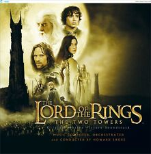LORD OF THE RINGS ( NEW SEALED CD ) TWO 2 TOWERS FILM SOUNDTRACK (HOWARD SHORE)