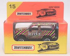 Matchbox Diecast Car Kidz Rock #15 in