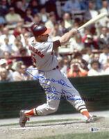 BROOKS ROBINSON SIGNED 11x14 PHOTO + 1970 WORLD SERIES MVP ORIOLES BECKETT BAS