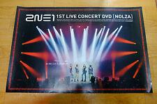 2NE1 - 2011 2NE1 1st Live Concert DVD [NOLZA!] *Official POSTER* KPOP