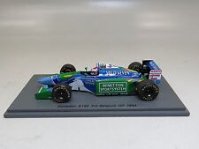 "Jos Verstappen Benetton B194 GP Belgium 3rd place 1/43 Spark S4483 ""Mild Seven"""