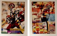 Heath Shuler Signed 1995 Stadium Club #302 Card Washington Redskins Autograph