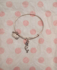 Alex & Ani Mermaid Ocean Sea Beach Silver Charm Bangle Bracelet