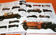 History of the Car in the world book Benz Rolls-Royce Jagger Audi Ferrari #0276