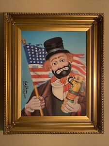 """Red Skelton's """"Old Glory"""" Re-Produced From The Original Oil Painting #1485/5000"""