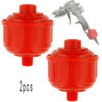 Universal AIR FILTER-Water Trap HVLP Paint Spray Gun Air Tool Car Accessories 2x
