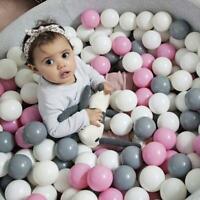 50/100pcs Ball Pit Bälle Spiel Kinder Kunststoff Baby Ocean Plüschtier Bunt