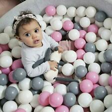 50/100pcs Ball Pit Balls Play Kids Plastic Baby Ocean Soft Toy Colourful Playpen