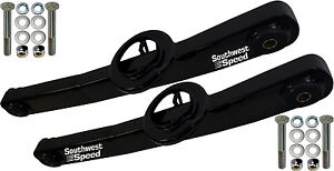 NEW SWS 1959-1964 CHEVY LOWER REAR TRAILING ARMS,IMPALA,BLACK POWDER COATED,PAIR