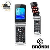 TELEFONINO TELEFONO CELLULARE PER DA ANZIANI BRONDI MAGNUM 3 ALTO VOLUME DISPLAY