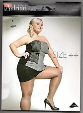 Plus Size klassische Strumpfhose FARBEN 20 den leicht glänzend Gr XXL - XXXXL