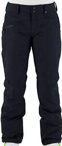 Obermeyer Malta Black Ski Snow Pants - Womens Sz 12 Long ✨