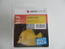Agfa Photo NO ES Original T1285 MULTIPACK EPSON STYLUS sx-230 -235 -440 -430w