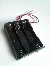 Battery holder Batteriehalter Support de batterie portapilas plano 3xAA AA LR06
