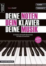 Deine Noten, Dein Klavier, Deine Musik von Tatjana Davidoff (2017, Geheftet)