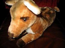 "18"" Vtg 1981 Dakin Fawn Bambi Baby Deer Shredded Clippings Plush Stuffed Animal"