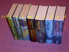 Harry Potter 1-7 - Joanne K. Rowling Büchersammlung Harry Potter 1-7