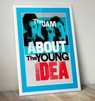 The Jam Print, Paul Weller Print, About The Young Idea Print, The Jam Poster