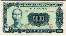 Vietnam 5000 Dong 1953 P-66 *aUNC* Banknote - k166